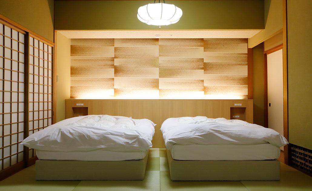 聚楽第 12畳+8畳 和ベッド
